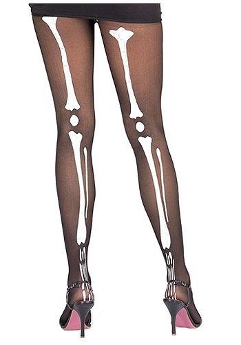 Bone Adult Tights (Rubie's Costume Co Bone Tights Costume)