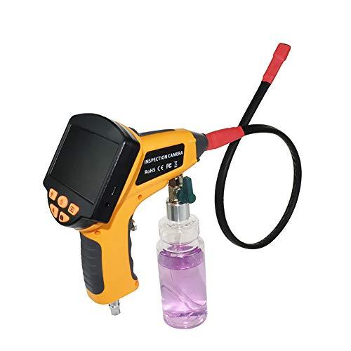 Endoscopio HD, cámara de inspección de cable/endoscopio con 3,5 Monitor LCD de pulgadas, cámara para alcantarillado,...