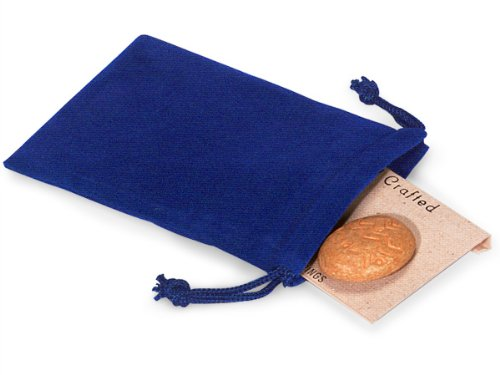 Velour Jewelry Pouches - Blue Jewelry Pouches 3