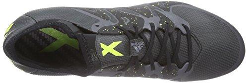Adidas Mannen X 15.1 Fg / Ag Voetbalschoenen Zwart (kern Zwart / Zonne-geel / Nacht Ontmoet. F13)