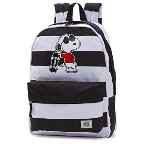 Vans Peanuts Realm Backpack Joe Cool School Bag Va3aowo2u Limited Edition