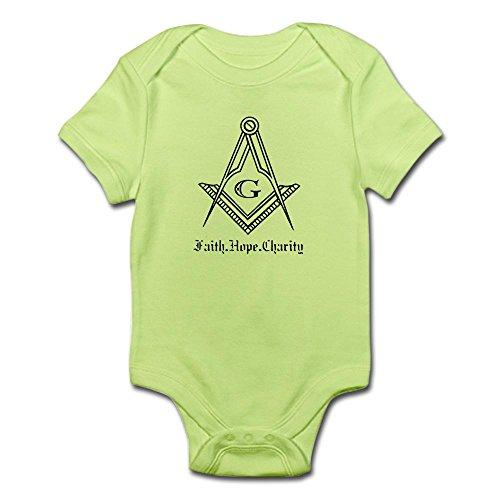 CafePress – Masonic Infant Bodysuit – Cute Infant Bodysuit Baby Romper