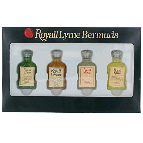 - Royall Lyme Bermuda Collection by Royall Fragrances 4 Piece Mini Variety Set men