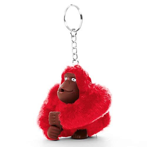 Kipling Sven Monkey Keychain Cherry ()
