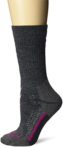 Lorpen Women's T3 Hiker Socks, Charcoal, Medium