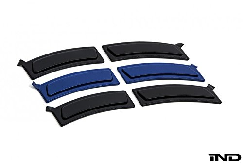 IND Estoril Blue Metallic painted Front Reflector Set For F32 4 Series by IND