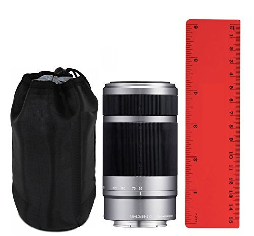 Sony 50mm f/1.8 (E Mount) (4.5'') Prototypical Lens Case + Lens Cleaning Cloth