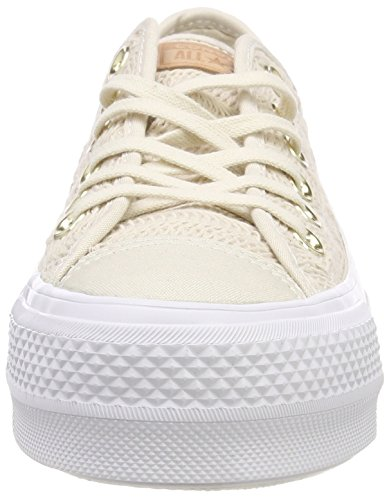 Donna Ctas Bianco white white Driftwood Sneaker Converse Ox driftwood driftwood 248 Lift YxndWWqF