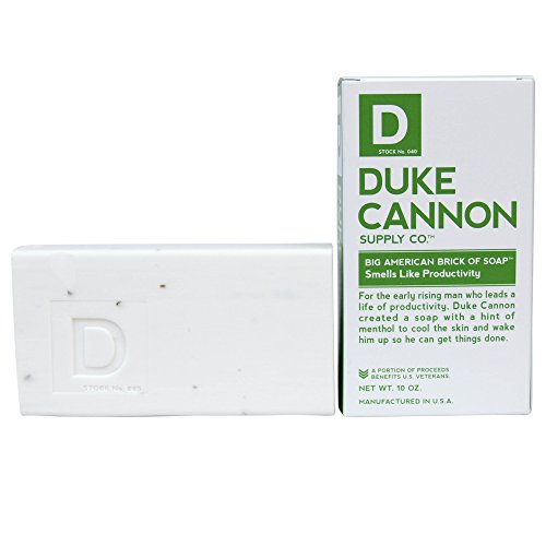 全くヘビー大声でDuke Cannon Men's Bar Soap - 10oz. Big American Brick Of Soap - Smells Like Productivity by Duke Cannon