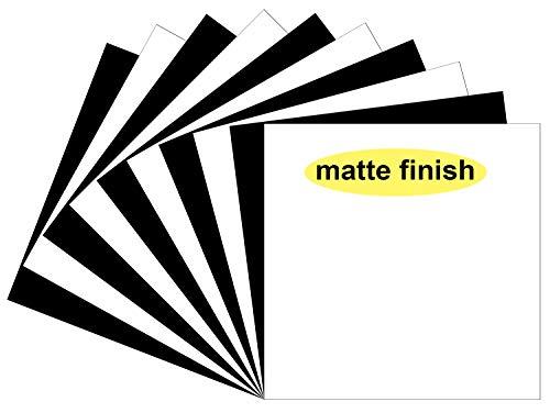 Matte Oracal 651 Vinyl Sheets, 10 Flat 12