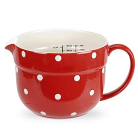 Spode - Baking Days - Red - Individual Measuring Jug 1 Ltr: Amazon ...
