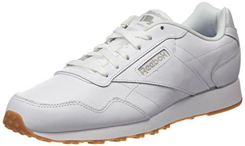 LX Rot Royal Reebok Steel Homme Gum Sneakers Blanc Collegiate Burgundy Basses White White Glide YEEd7q