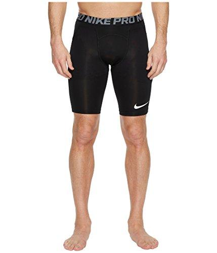 Nike Men's Pro Heist Slider Baseball Shorts (Black/Cool Grey/White, Large 11.5)