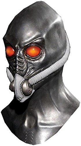 Time Traveler Resurrection Latex Alien Adult Halloween Costume Mask -