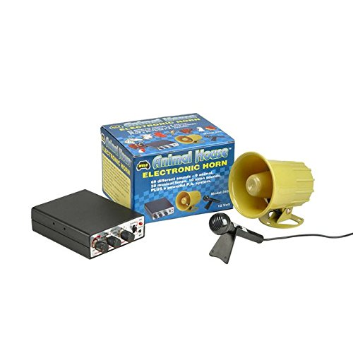 Wolo (345) Animal House Electronic Horn and P.A. System - 12 -