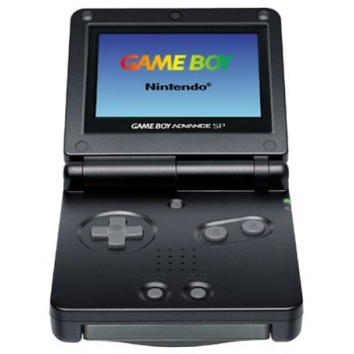 Nintendo - GameBoy Advance SP - Negro [Game Boy Advance ...