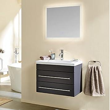 Lomado Badezimmer Waschtisch Set ○ 70cm Keramik-Waschbecken ...