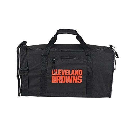 New Orleans Saints Medium Striped Core Duffle Bag