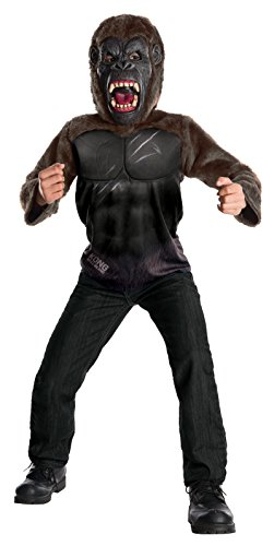 Rubie's Costume Kong: Skull Island Child's Deluxe King Kong Costume, Multicolor, (Gorilla Costumes Child)