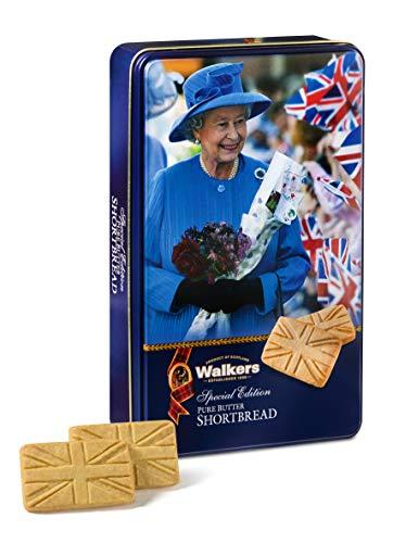 Walkers Shortbread Cookies with Queen Keepsake Tin
