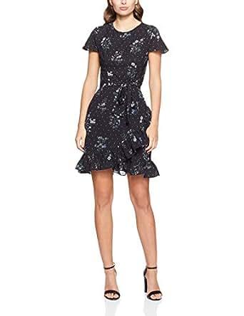 Cooper St Women's Alexandra Fitted Knit Dress, Black, 10
