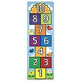 Melissa & Doug Hop and Count Hopscotch Game Rug  (3 pcs, 78.5 x 26.5...