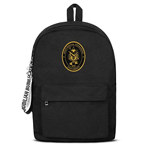 MIENTITE Daily School Backpack Florida Joint Special Operations Command Backpacks Unisex Classic Lighteweigh College Daypacks Bag