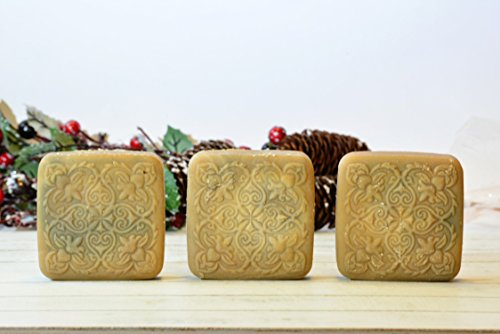 Oatmeal Goat Milk Soap | Handmade 6.5 Ounce (Oatmeal Bar Recipe)