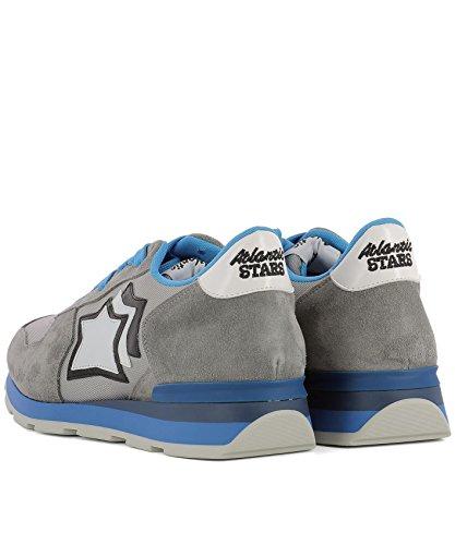 Atlantic Stars Herren ANTARESCSC83A Grau Stoff Sneakers