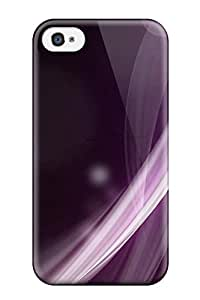Awesome Case Cover/iphone 4/4s Defender Case Cover(purple Shape)