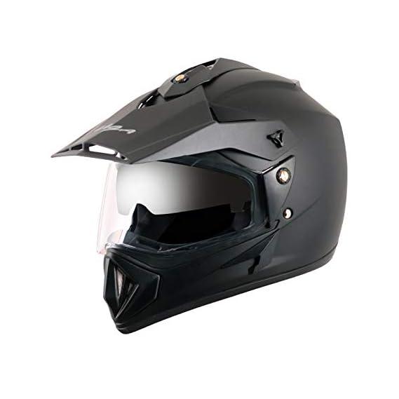 Vega - OR-D/V-DK_M Off Road D/V Black Helmet-M
