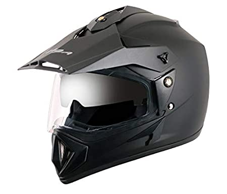 Vega - OR-D/V-DK_M Off Road D/V Black Helmet-M: Amazon.in: Car & Motorbike