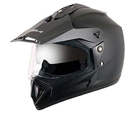 Vega - OR-D/V-DK_M Off Road D/V Black Helmet-M: Amazon.in: Car & Motorbike