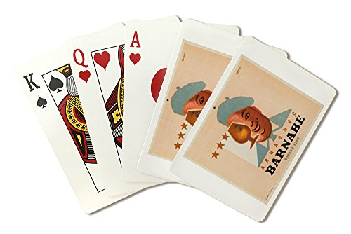 (Armagnac Barnabe Vintage Poster (artist: Savignac, Raymond) France c. 1936 (Playing Card Deck - 52 Card Poker Size with Jokers))