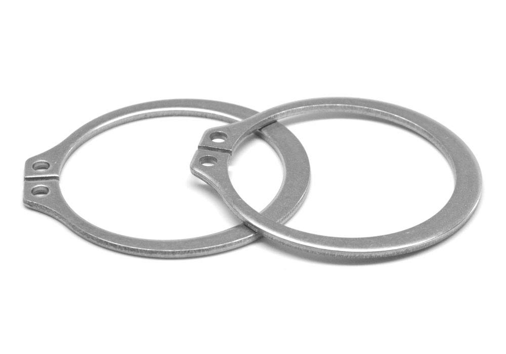 .812 External Retaining Ring Stainless Steel 15-7 Pk 100