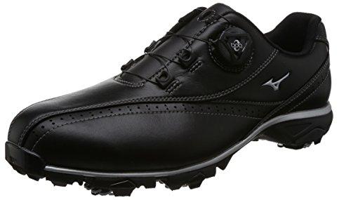 [ミズノ ゴルフ] ゴルフシューズ スパイク ワイドスタイル002 ボア 4E メンズ (現行モデル) 51GQ174009245