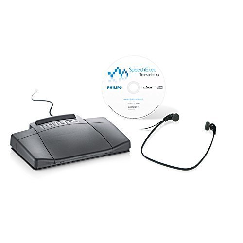 Philips Electronics LFH717704 LFH7177 SpeechExec Digital Transcription Kit by Philips