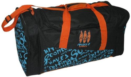 NOWI Freizeittasche, sz/orange, 57x25x28, 51961 sz/orange oder 24018