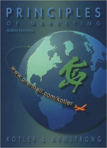 9th Edition Principles of Marketing with CD