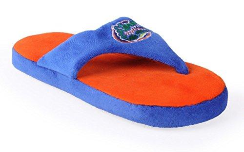 Ncaa College Comfy Flop - Con Licenza Ufficiale - Happy Feet Mens E Womens Florida Gators
