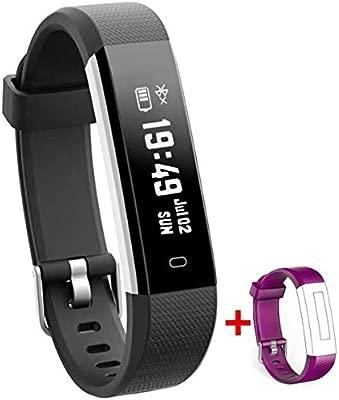 NAKOSITE RAY2434 Reloj inteligente mujer hombre Smartwatch Pulsera actividad relojes Inteligentes deportivo, Podometro Contador de Pasos, Calorías, ...