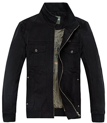 chaqueta Black hombre Chaqueta 2232 para SZYYSD ACqv8xUxw