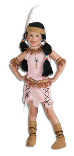 [Deluxe Child Princess of The Dawn Native American Costume, Medium] (Pocahontas Costumes For Kids)