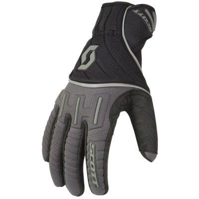 Scott Ridgeline Motocross Gloves - Black /Gray - 3X-Large (Glove Black Scott)