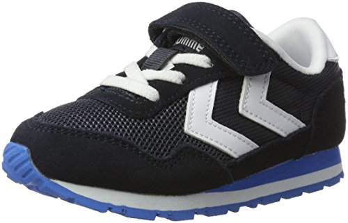 Hummel Reflex Jr Unisex-Kinder Low-Top Blau (Total Eclipse)