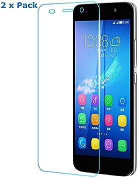 2x Huawei Y6 II Pantalla [No para Huawei Y6/Y6 Compact/ Y6 II ...