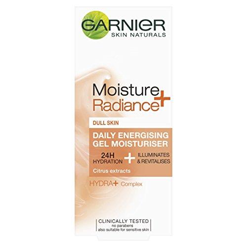 Garnier Moisture+ Radiance Daily Energising Gel Moisturiser 50ml