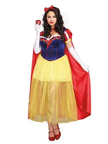 Dreamgirl Women's Plus-Size Happily Ever After Costume, Multi, 3X/4X