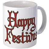 "11 ounce Mug - Happy Festivus Seinfeld Fans Mug - S White """