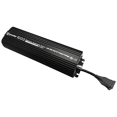 Single or Double Ended Enabled 120VAC~277VAC Switchable Slim Ballast MH or HPS Lamps 400W, 600W and 1000W